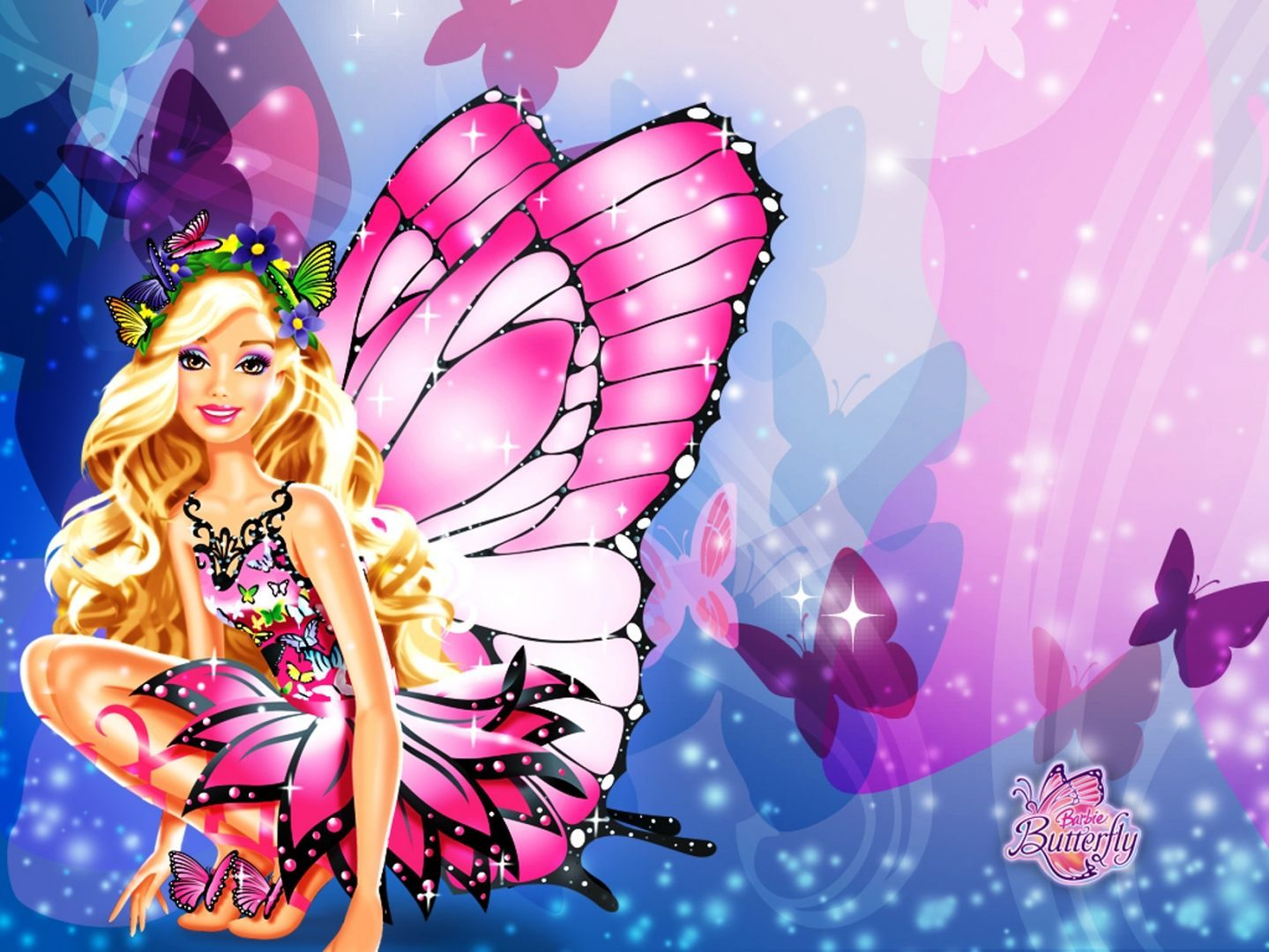 Barbie mariposa :: Imágenes y fotos