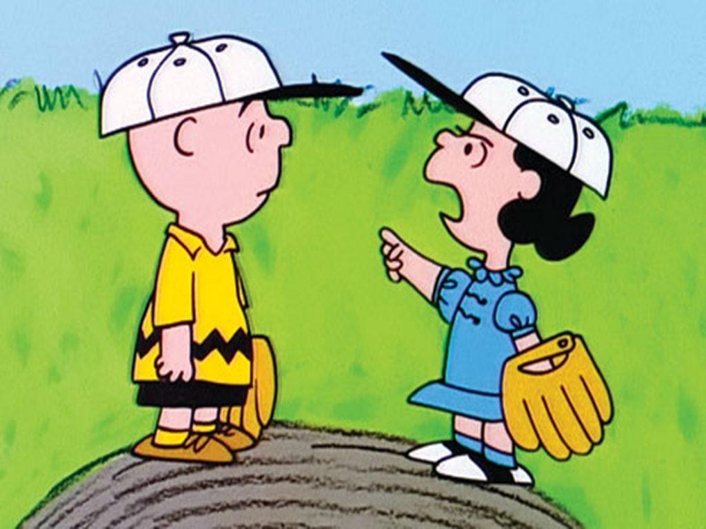 Beisbol con Charlie Brown :: Imágenes y fotos