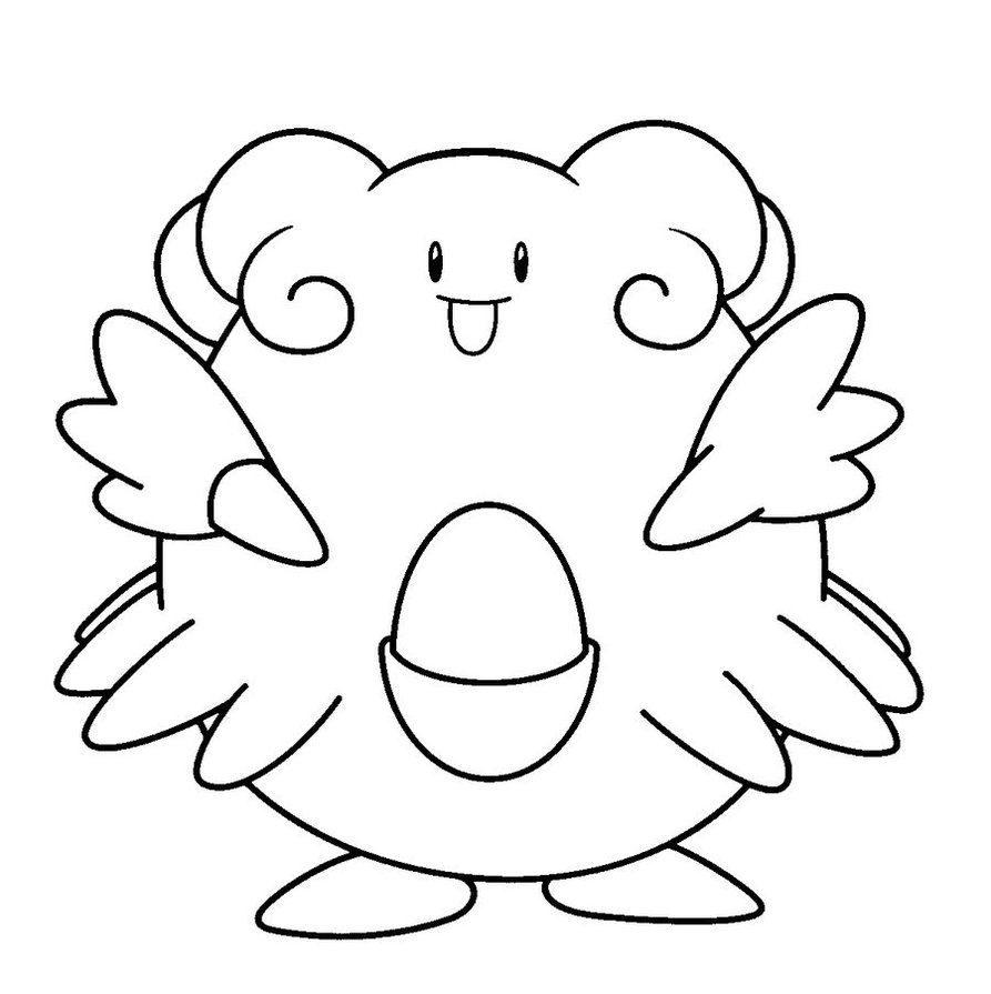 Galera de imgenes Dibujos Pokemon para colorear