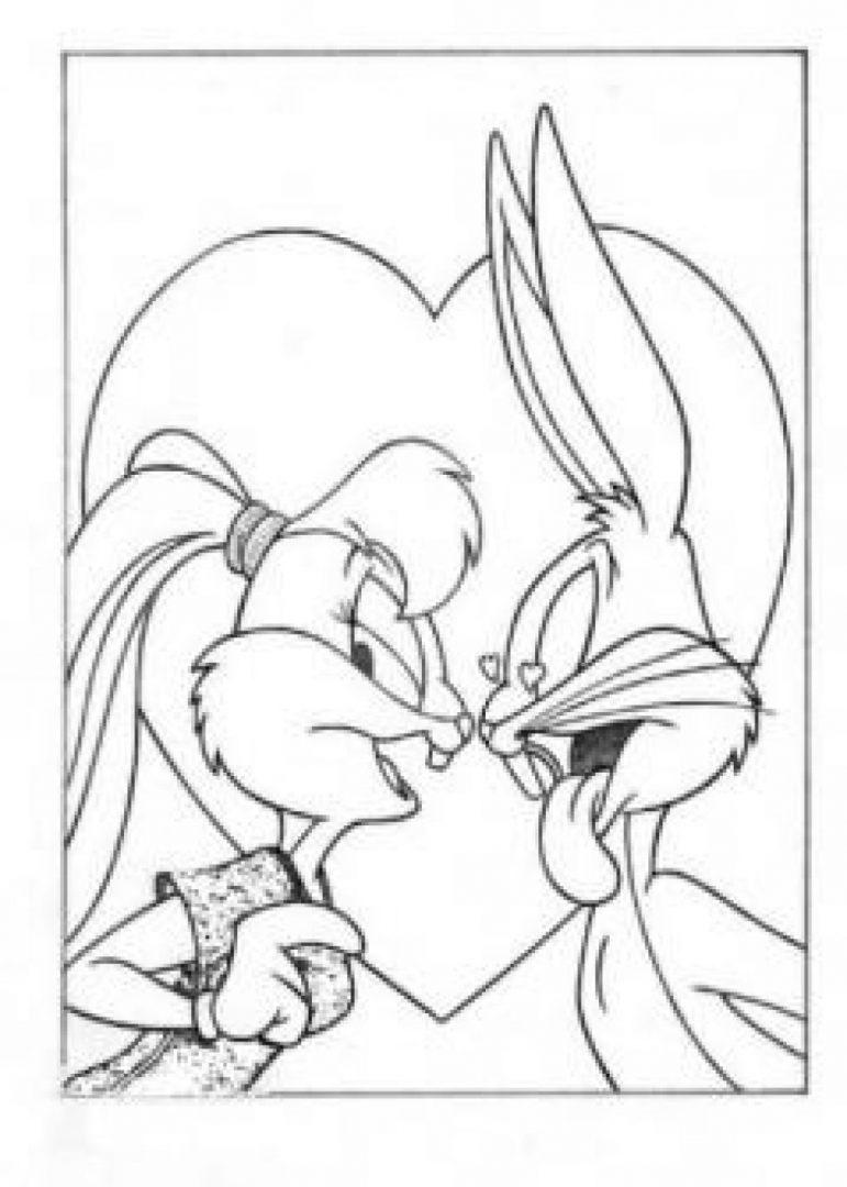 Galería de imágenes: Dibujos de amor para colorear