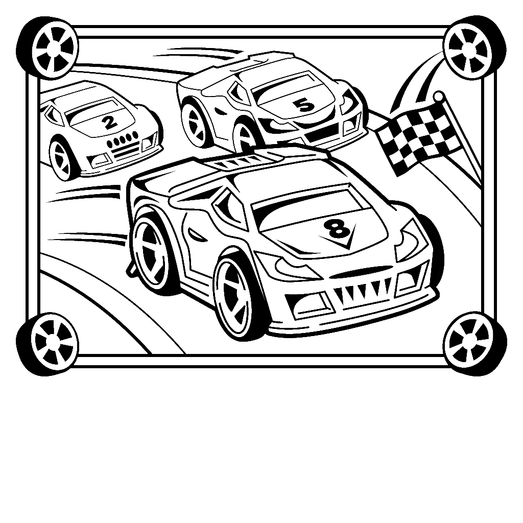 little cars coloring pages - photo#24
