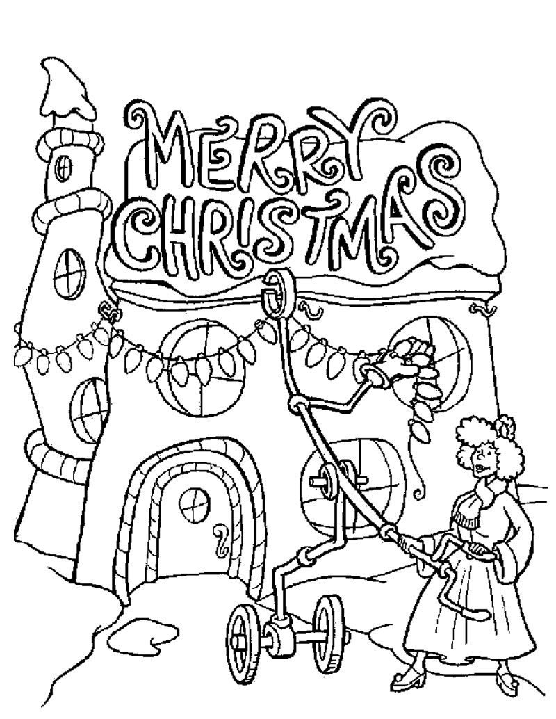 baby grinch coloring pages - photo #38