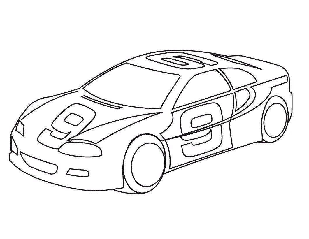 Dibujos de coches para colorear - Empapelar coche para pintar ...