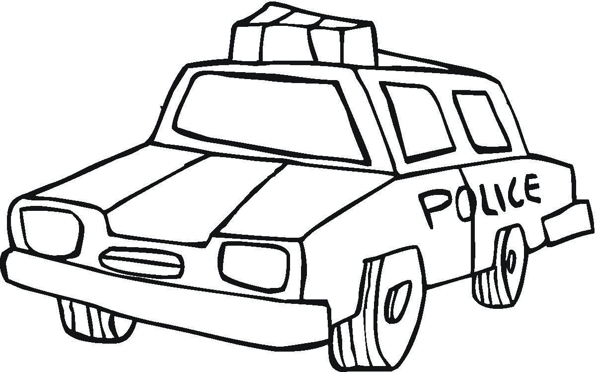 Coche de policía :: Imágenes y fotos