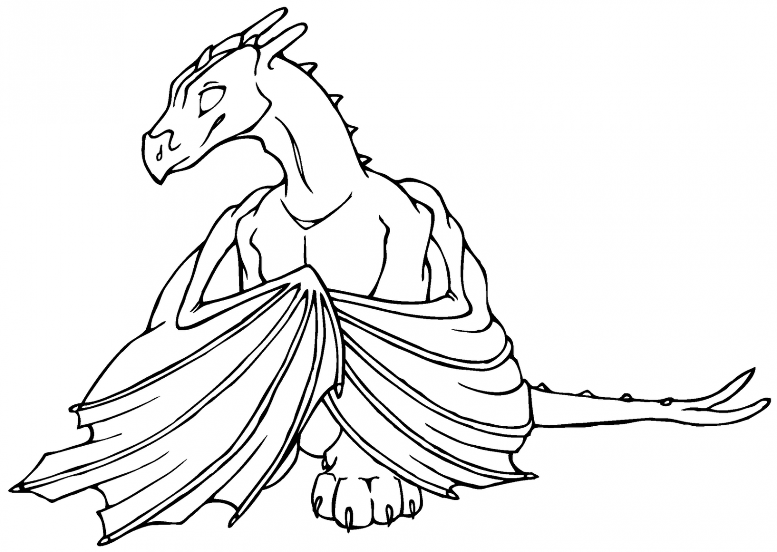 Dragones para colorear :: Imágenes y fotos