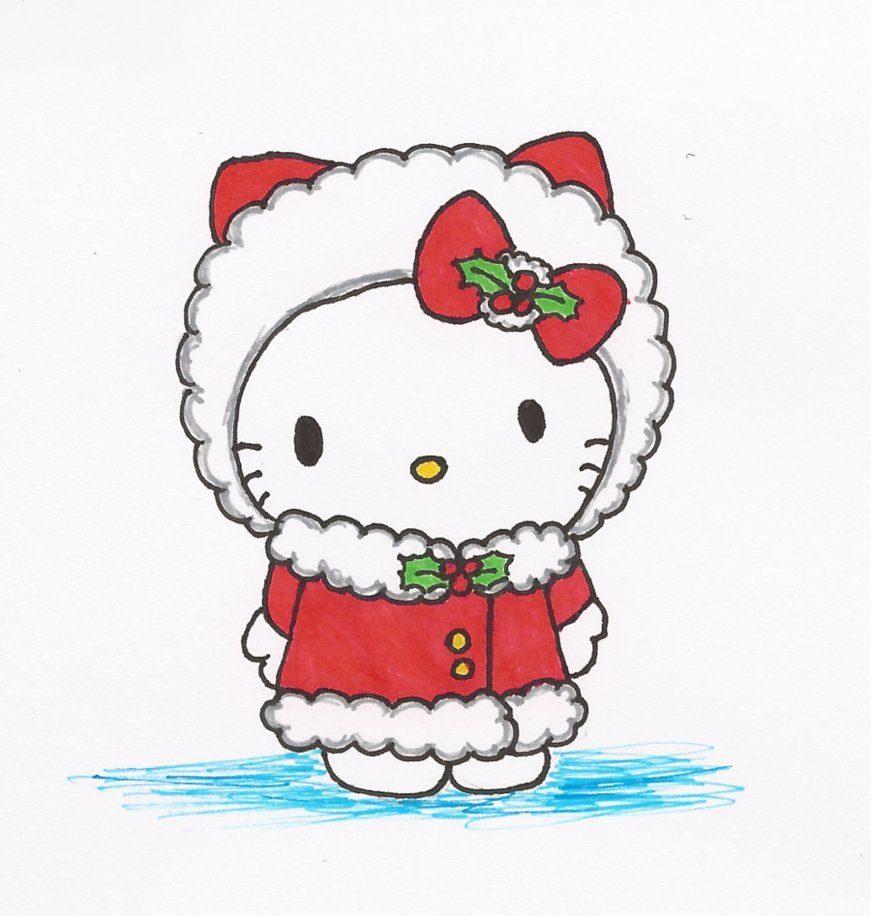Worksheet. Hello Kitty en Navidad  Imgenes y fotos