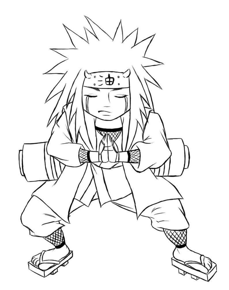 Galería De Imágenes Dibujos De Naruto Para Colorear