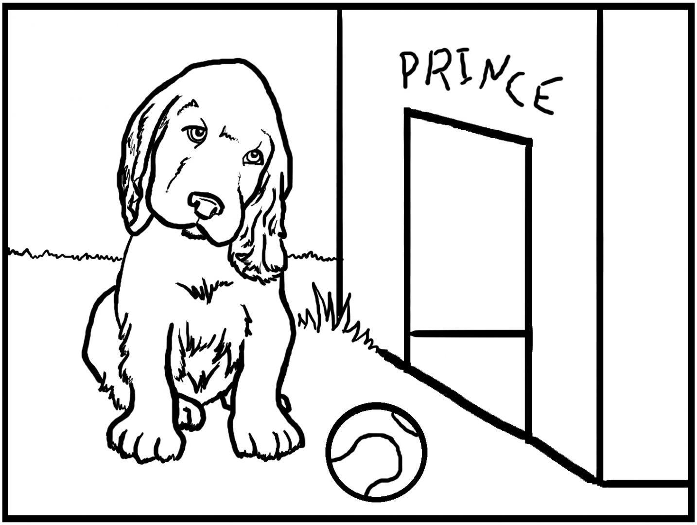 Galería de imágenes: Dibujos de perros para colorear