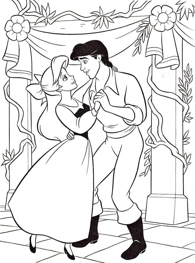 Galería de imágenes: Dibujos de princesas para colorear
