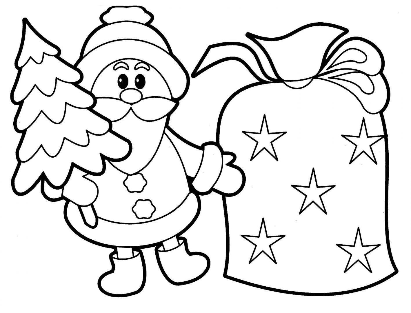 Galería De Imágenes Dibujos De Navidad Para Colorear