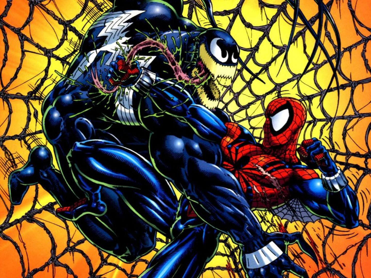 Spiderman y Venom