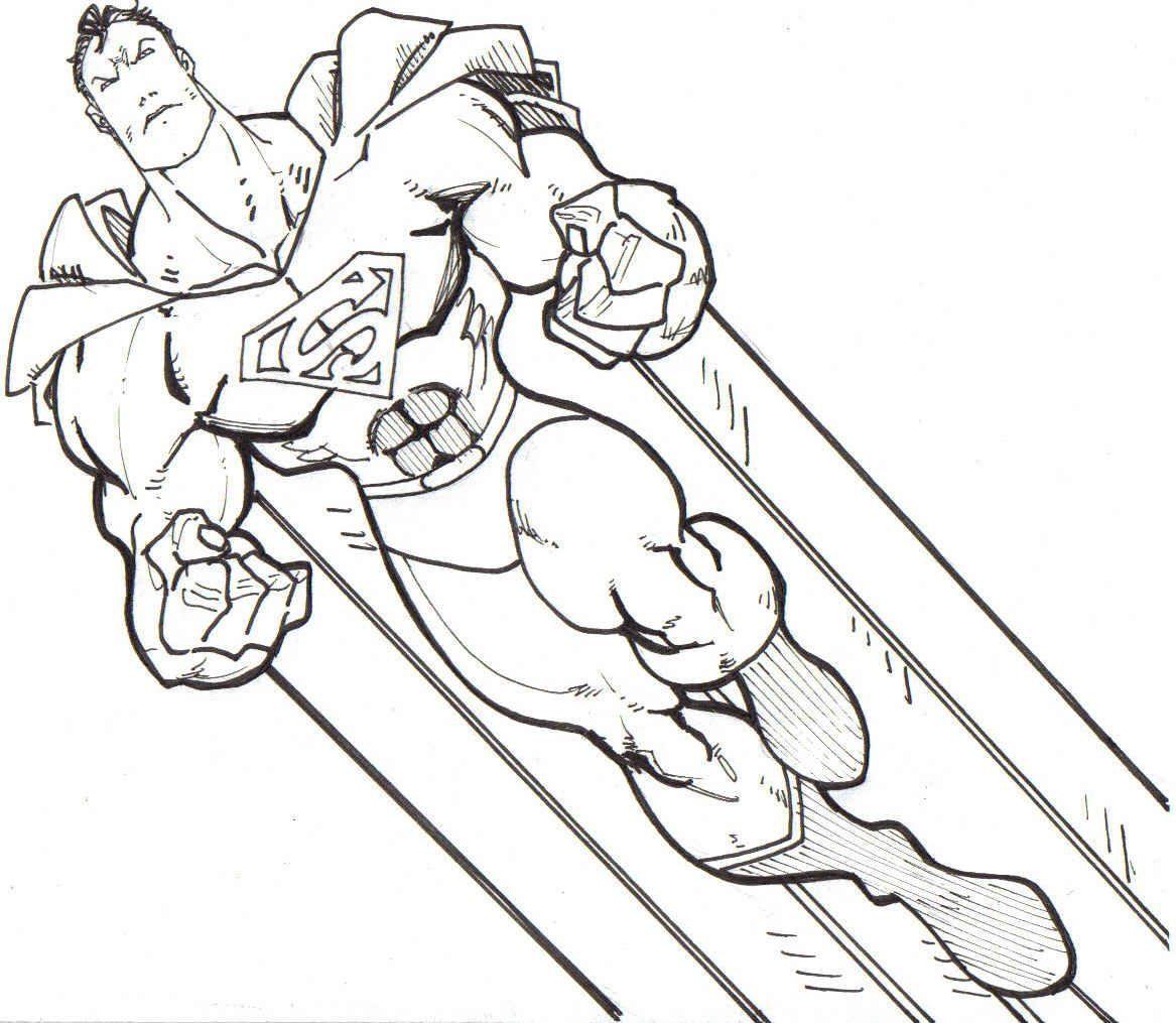Galería de imágenes: Dibujos de superhéroes para colorear