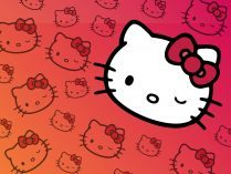 Cabeza de Hello Kitty