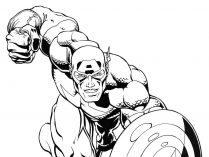 Dibujos De Superhéroes Para Colorear