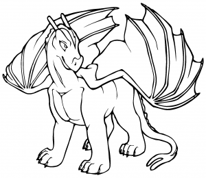 Dibujos De Dragones Para Colorear